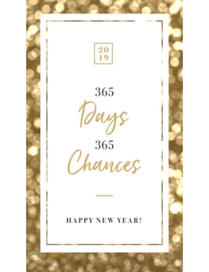 New Year, NewBeginning